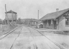 Cokertown, Train Station.