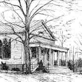 Rowe Methodist Church by Ossi Stippa.