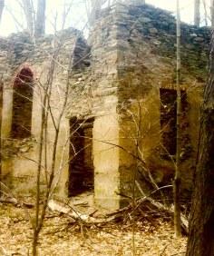 Shookville, Church remains.