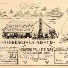 1936 Lafayette Lodge poster.