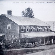 Lafayette Lodge, postcard c. 1940.