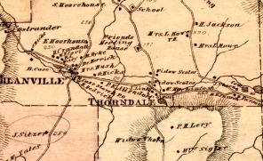 1876 map by Gray.