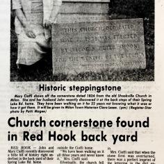 Shookville cornerstone